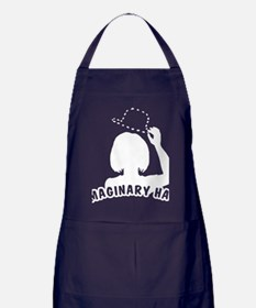 cougar-town-imaginary-hat_wh Apron (dark)