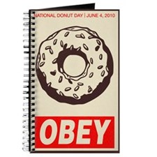 ndd 2010 obey donut 11x17 poster Journal