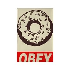 ndd 2010 obey donut 11x17 poster Rectangle Magnet