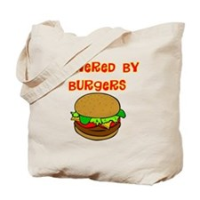 powered by Burgers DARKS Tote Bag