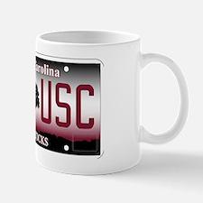 IM4 USC License Plate Mug