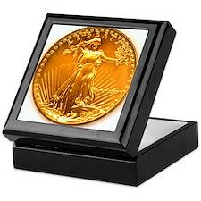 Gold Liberty Keepsake Box