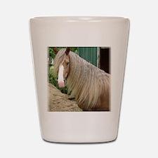frostybarn1headsoftlge large Shot Glass