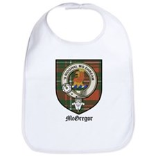 McGregor Clan Crest Tartan Bib