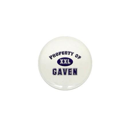 Property of gaven Mini Button