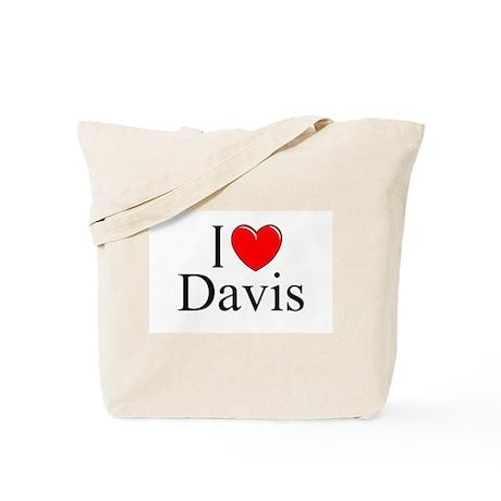 """I Love Davis"" Tote Bag"