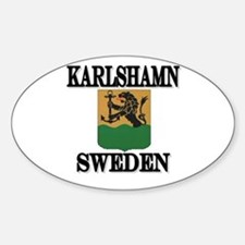 The Karlshamn Store Oval Decal