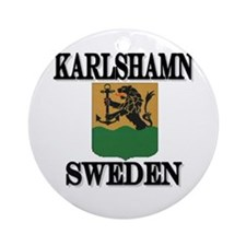 The Karlshamn Store Ornament (Round)