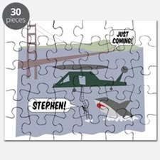 justcoming-shark-helicopter Puzzle