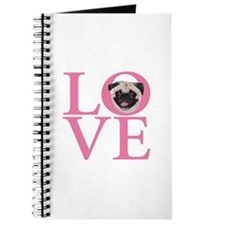 Love Pug - Journal