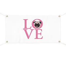 Love Pug - Banner