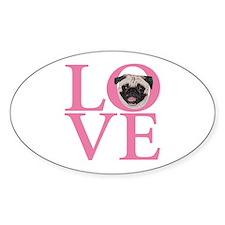 Love Pug - Decal