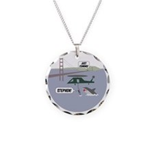 justcoming-shark-helicopter- Necklace