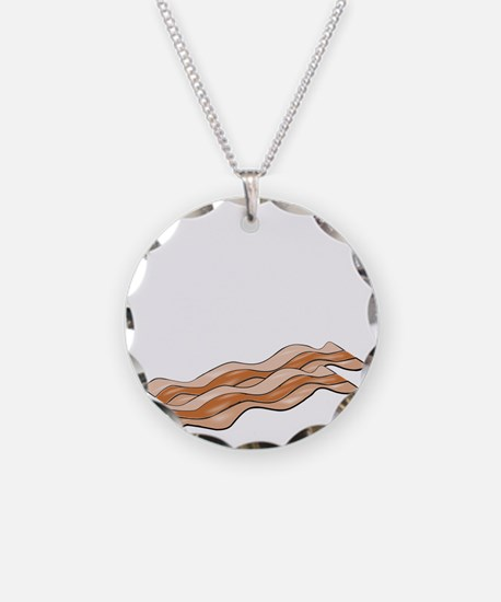 powered by bacon New Dark Sh Necklace