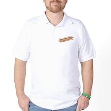powered by bacon New Dark Shirt T-Shirt
