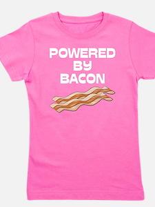 powered by bacon New Dark Shirt Girl's Tee