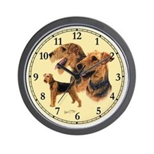 Airedale Clock Wall Clock