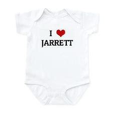 I Love JARRETT Infant Bodysuit