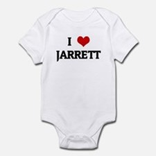 I Love JARRETT Infant Bodysuit