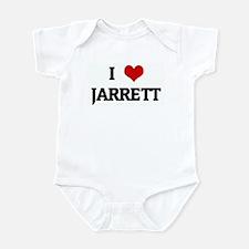 I Love JARRETT Onesie