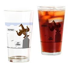 stephen king kong Drinking Glass