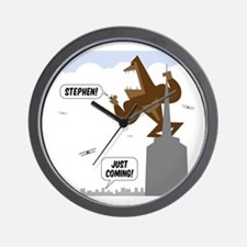 stephen king kong Wall Clock