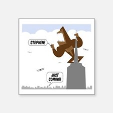 "stephen king kong Square Sticker 3"" x 3"""