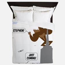 stephen king kong Queen Duvet