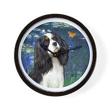 J-Orn-Lilies5t-Tri Cavalier Wall Clock