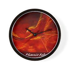 phoenix-poster Wall Clock