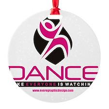 Dance Shirt LogoWatching Ornament