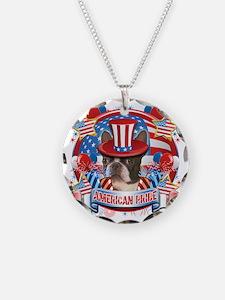 American Pride Boston Terrie Necklace