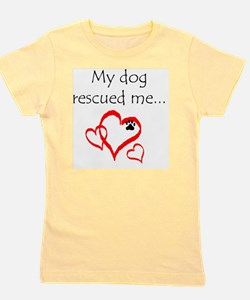 dogs are angels with fur Girl's Tee