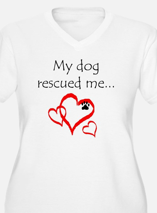 dogs are angels w T-Shirt