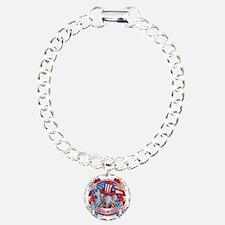 American Pride Weimer Charm Bracelet, One Charm