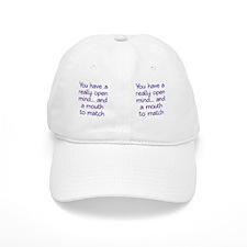 open-mind_mug1 Baseball Cap