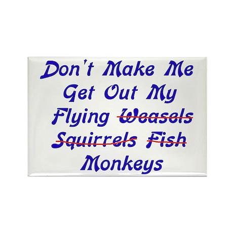 Flying Monkeys Rectangle Magnet