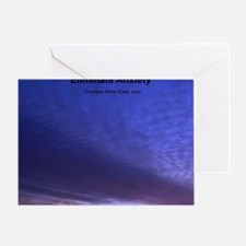 eliminate anxiety Greeting Card