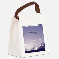 Setting Boundaries Canvas Lunch Bag