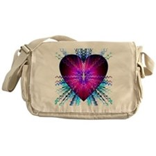 electric heart Messenger Bag