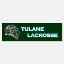 Tulane Lacrosse Bumper Bumper Bumper Sticker
