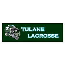 Tulane Lacrosse Bumper Bumper Sticker