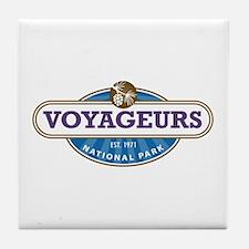 Voyageurs National Park Tile Coaster