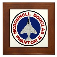 F-4 Phantom II Framed Tile
