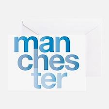 man-chest-er Greeting Card