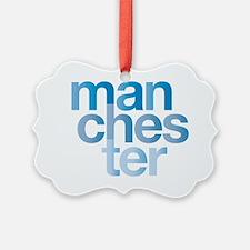 man-chest-er Ornament