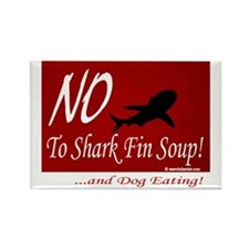 no-shark-fin-soup3 Rectangle Magnet