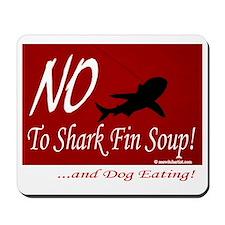 no-shark-fin-soup3 Mousepad