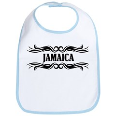 Tribal Jamaica Bib