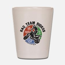 Radteamriders-final-colour-distressed Shot Glass